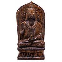 Wooden Buddha Statue
