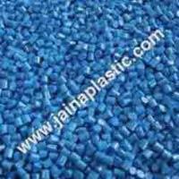 ABS Blue Plastic Granules