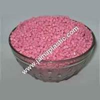 ABS Pink Plastic Granules