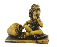 Handmade Antique Resin Baby Krishna Statue 01