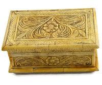Handmade Camel Bone Square Box 03