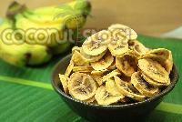 Dehydrated Banana Coins