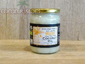 Organic Cold Pressed Coconut Oill (500 ml)