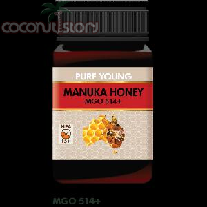 Pure Young Manuka Honey (MGO 514+)