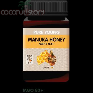 Pure Young Manuka Honey (MGO 83+)