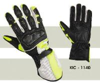 KIC - 1140 Mens Leather Motorcycle Glove