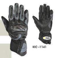 KIC - 1141 Mens Leather Motorcycle Glove