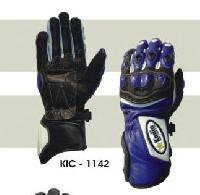 KIC - 1142 Mens Leather Motorcycle Glove