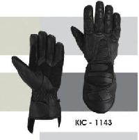 KIC - 1143 Mens Leather Motorcycle Glove