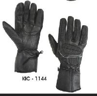 KIC - 1144 Mens Leather Motorcycle Glove