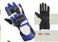 KIC - 1146 Mens Leather Motorcycle Glove