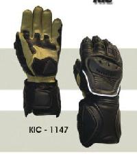 KIC - 1147 Mens Leather Motorcycle Glove