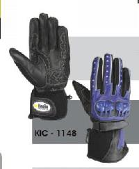 KIC - 1148 Mens Leather Motorcycle Glove