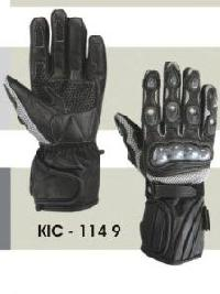 KIC - 1149 Mens Leather Motorcycle Glove