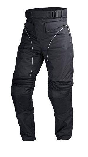 Mens Black Cordura Motorcycle Pant