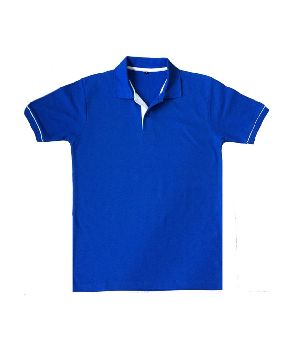 Mens Blue Polo T-Shirts