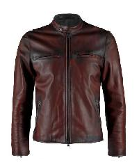 Mens Dark Brown Leather Jackets