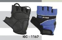 Mens Leather Cycling Gloves