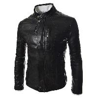 Mens Stylish Black Leather Jackets