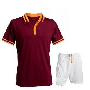 Mens White & Red Soccer Uniform