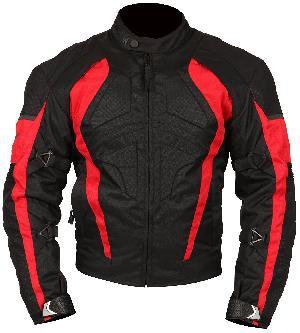 Mens Cordura Black & Red Jacket