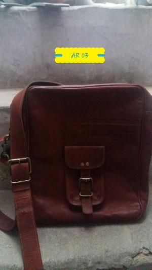 AR 03 Leather Sling Bag