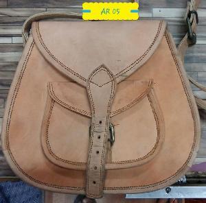 AR 05 Leather Sling Bag