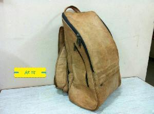 AR 08 Leather Backpack Bag
