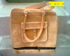 AR 14 Leather Sling Bag