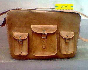 AR 15 Leather Sling Bag