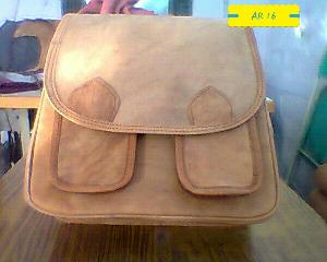 AR 16 Leather Sling Bag