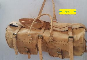 Leather Duffle Bag 03