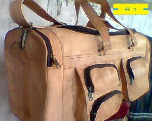 Leather Duffle Bag 05