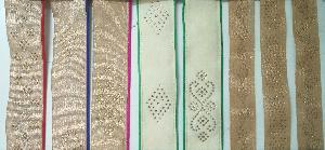 Diamond Work Dhupia Piping Laces