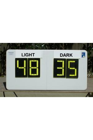 4 Digit Basketball Self Supporting Scoreboard
