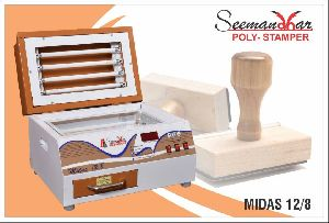 Midas 12/8 Polymer Stamp Making Machine