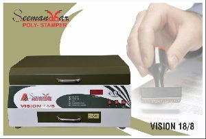 Vision 18/8 Polymer Stamp Making Machine