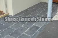 Black Polished Kota Limestone