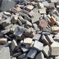 Sagar Black Sand Stone Cobbles