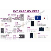 PVC Card Holders