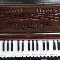 Portable 3 Line 9 Scale  Harmonium With Coupler - 3