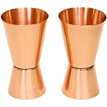 Copper Jigger Shot Glass 01