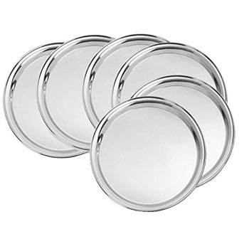 Stainless Steel Round Plates