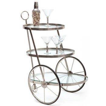 Wheel Bar Cart