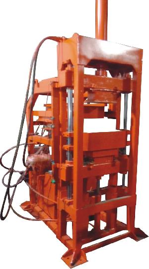 Automatic Interlocking Brick Making Machine