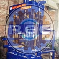 Semi Automatic Vibro Press Brick Making Machine