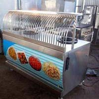 Grilled Display Counter