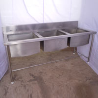 Stainless Steel Sink Unit 01
