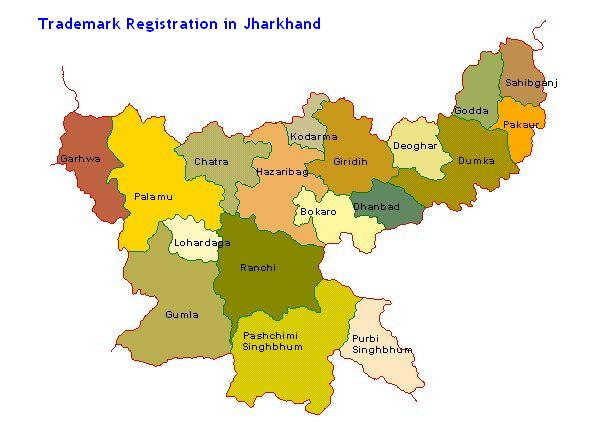 Trademark Registration in Jharkhand Ranchi Jamshedpur Dhanbad Bokaro Giridih