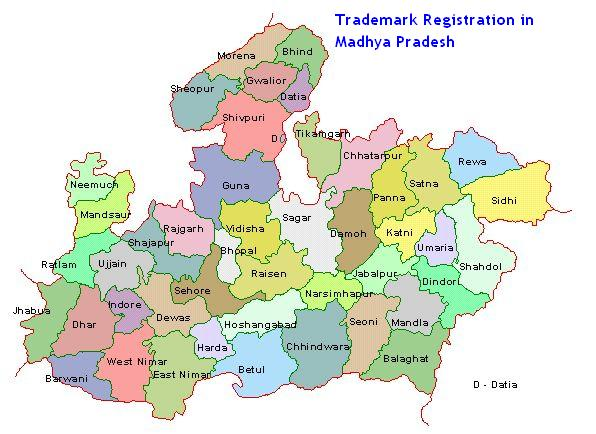 Trademark Registration in Madhya Pradesh, Ujjain, Bhopal, Indore, Khandwa, Jabalpur,Gwalior